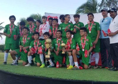 U15 Copa Coca-Cola 2017 Champions (3 consecutive years in a row)