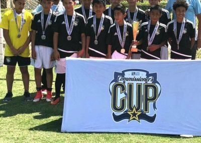 U14 Commisioner's Cup Champions 2018