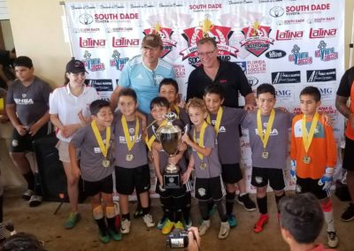 U10 South Dade Toyota of Homestead Soccer Champ Cup