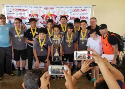 U16 South Dade Toyota of Homestead Soccer Champ Cup