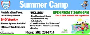 Homestead Summer Camp 2019
