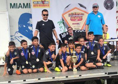 U10 Champions de Miami Soccer Festival 2019