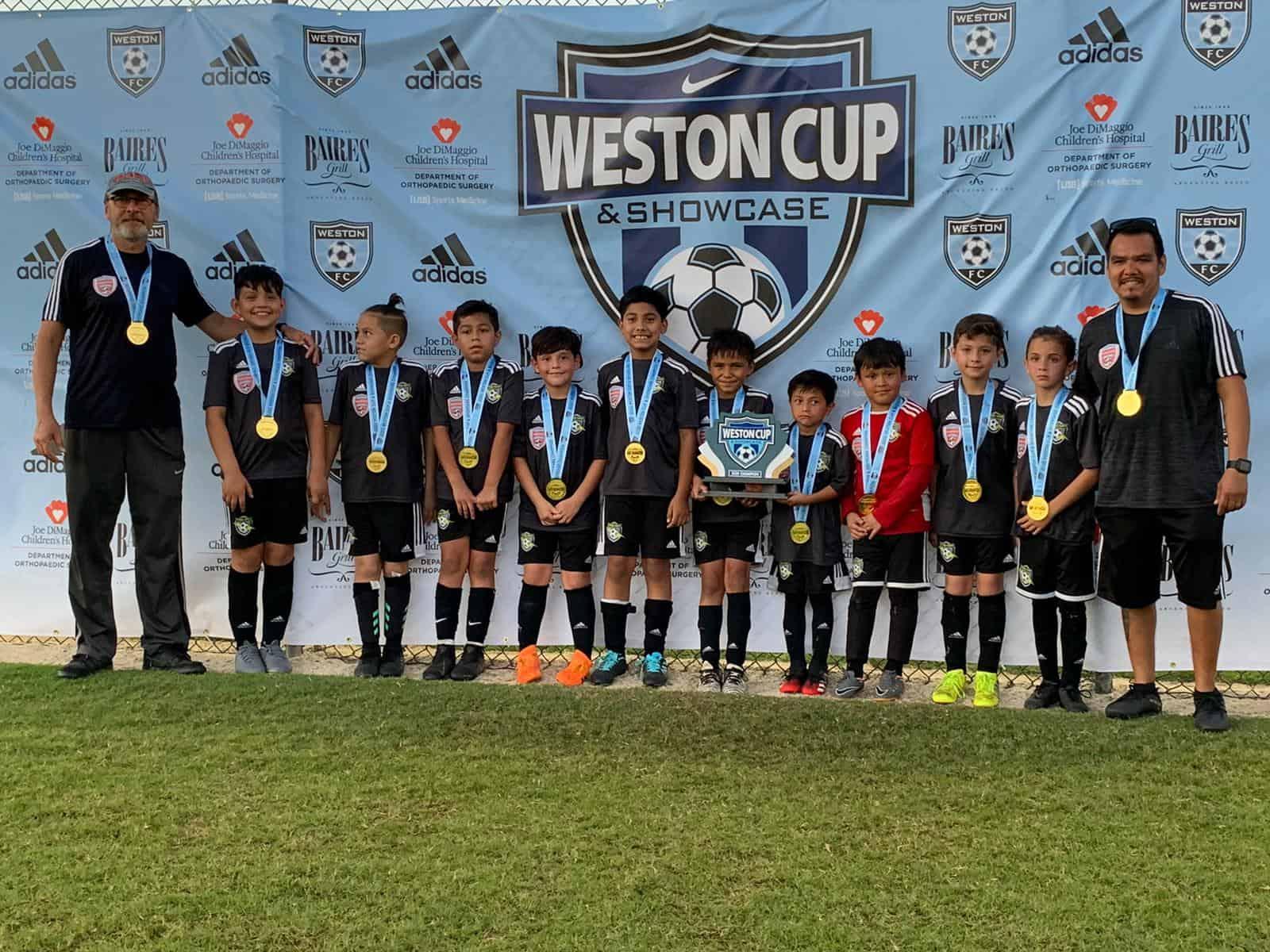 U10 Weston Cup Champs
