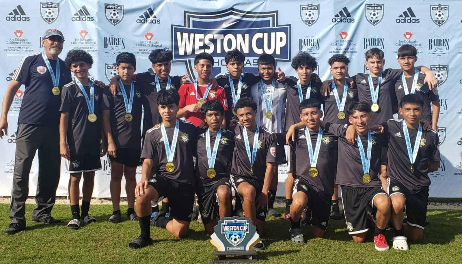 U16 Weston Cup Champs